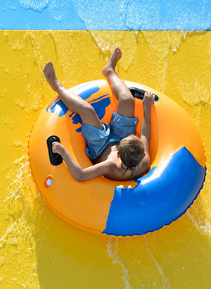 Lycische Kust met kinderen - waterpark