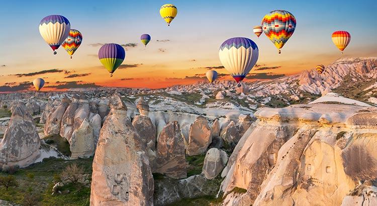 cappadocie luchtballon