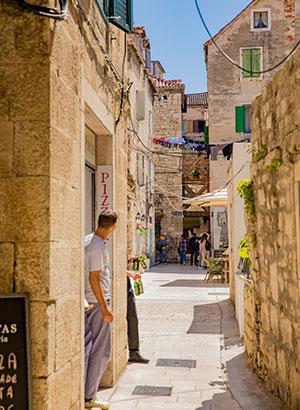 Doen in Brac, Kroatië: Split