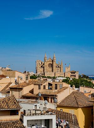 Doen in Palma de Mallorca: uitzicht vanaf Es Baluard