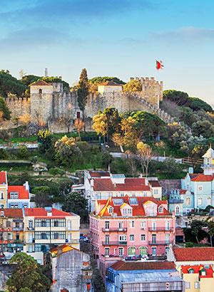 Mooiste kastelen Portugal: Sao Jorge