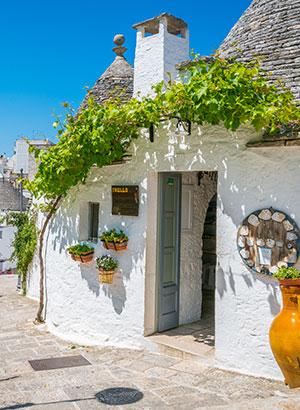 Mooiste vakantiebestemmingen Italië: Alberobello
