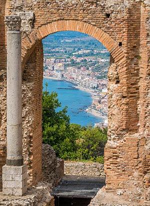 Mooiste vakantiebestemmingen Italië: Taormina, Sicilië