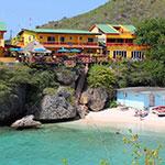Mooiste stranden Curacao: Bahia Appartementen & Diving