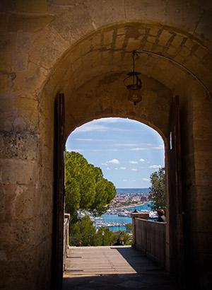 E-bike huren Mallorca: Castell Bellver
