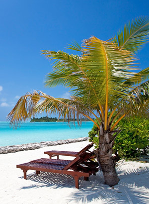 Favoriete bounty-eilanden: Nalaguraidhoo, Mauritius