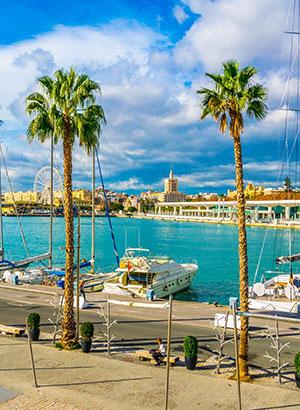 Favoriete last minute bestemmingen medewerkers: Málaga