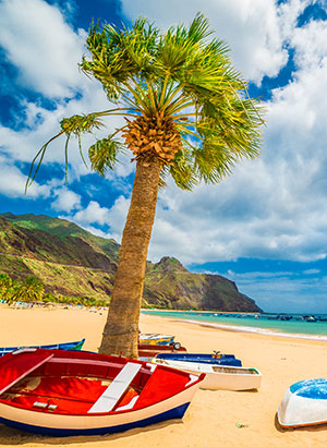 Favoriete last minute bestemmingen medewerkers: Tenerife