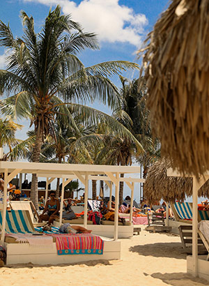 mooiste stranden Curaçao: Jan Thiel Beach