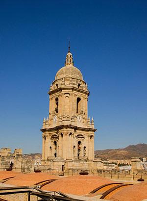 Mooiste uitzichtpunten Málaga: kathedraal