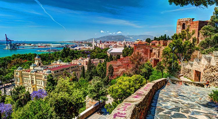 Mooiste uitzichtpunten Málaga