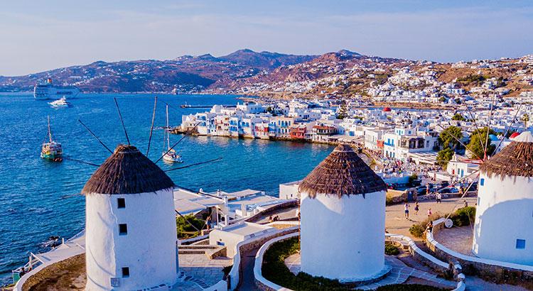 Mykonos-Stad, the place to be op Mykonos