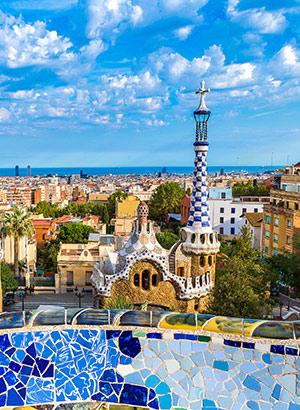 Populaire steden zomer: Barcelona