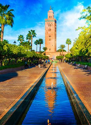 Populaire steden zomer: Marrakech
