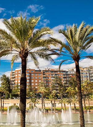 Populaire steden zomer: Valencia