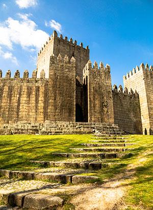 Zeven wonderen Portugal: Kasteel van Guimarães