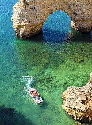 Doen in de Algarve; boottrip