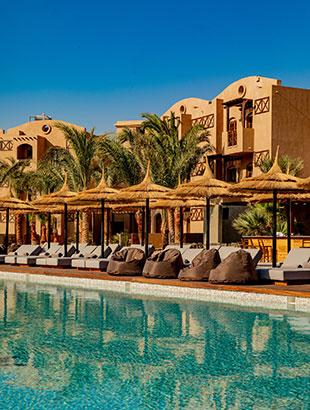 Doen in El Gouna, Egypte: hotel Cook's Club El Gouna