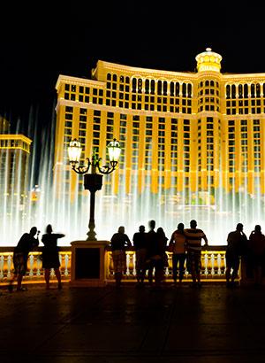Doen in Las Vegas: fonteinen bij Bellagio