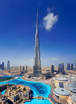 Dubai met kinderen: Burj Khalifa