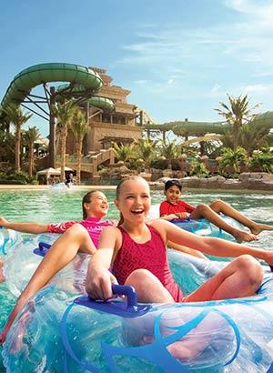 Dubai met kinderen: waterparken