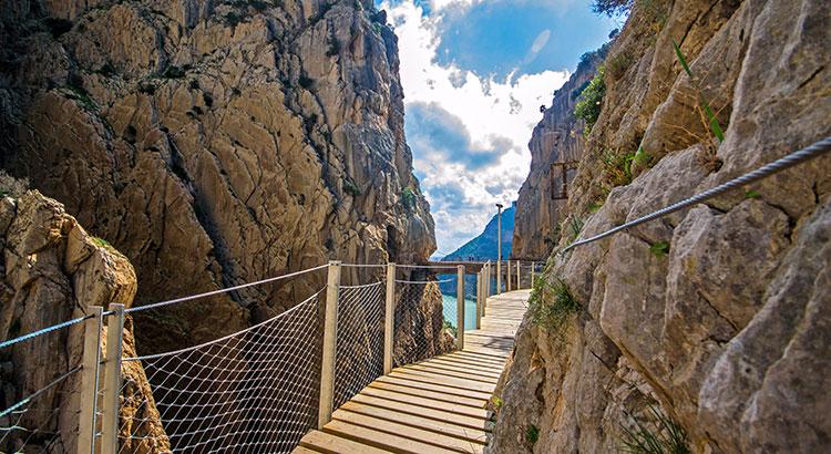 El Caminito del Rey, wandelpad Andalusië
