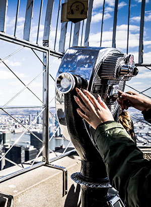 Observatieplatfor Empire State Building New York