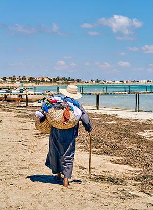 Vakantie-ergernissen voorkomen: verkopers op het strand
