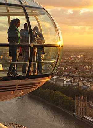 London Eye, reuzenrad Londen
