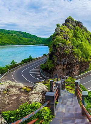 Mauritius ontdekken: huurauto