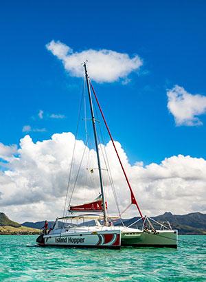 Mauritius ontdekken vanaf het water