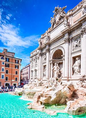 Mooiste pleinen Rome: Piazza di Trevi