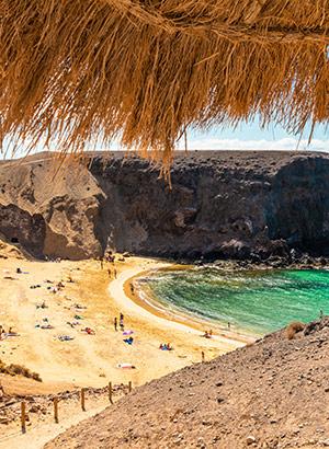 Mooiste stranden Lanzarote: Papagayo Beach
