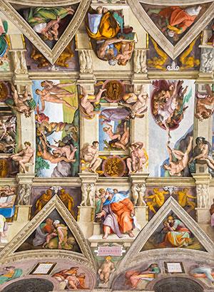 Sixtijnse kapel. Vaticaanstad (Rome)