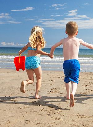 Tips perfecte stranddag: kinderen