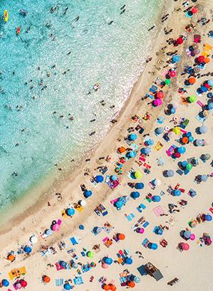 Tips perfecte stranddag: parasols