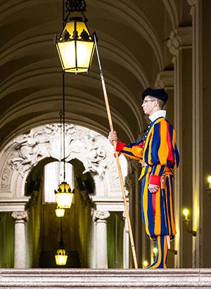 Zwitserse garde, Vaticaanstad (Rome)