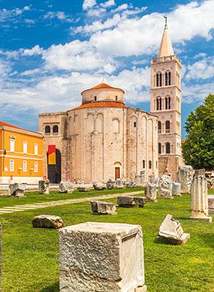 Doen in Zadar: Forum Romanum