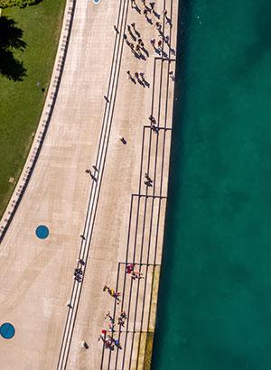 Doen in Zadar: Riva