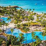 Mooiste stranden Aruba: Palm Beach, Hilton Aruba Caribbean Resort & Casino