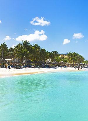 Mooiste stranden Aruba: Palm Beach