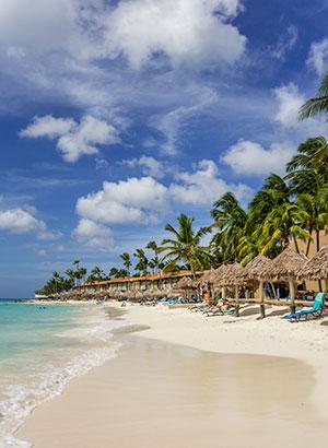 Mooiste stranden Aruba: Druif Beach