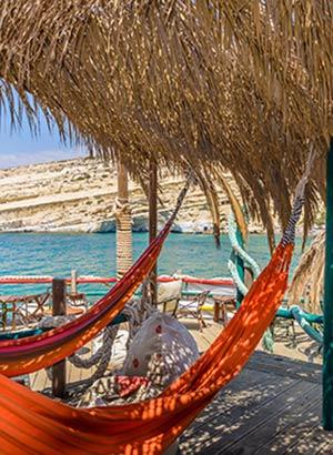 De mooiste stranden van Kreta: Matala