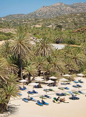 Mooiste stranden Kreta: Vai