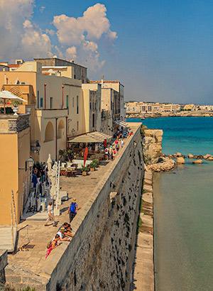 Puglia per huurauto ontdekken: Otranto
