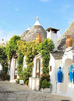 redenen vakantie Puglia: Alberobello