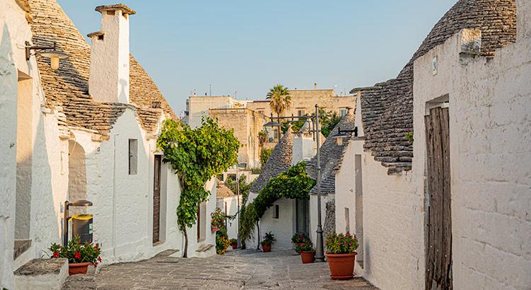 Doen in Alberobello, Puglia