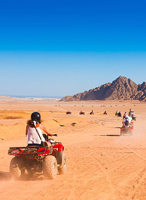 Doen in Marsa Alam: quadsafari