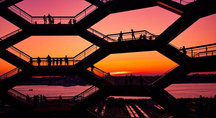 Hudson Yards Vessel, New York's Staircase