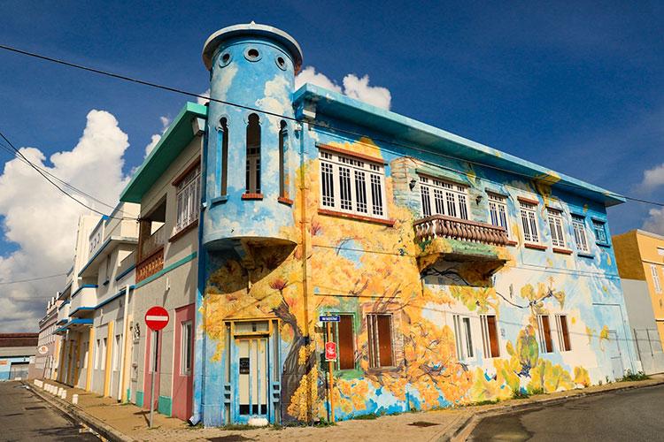 Street art Curaçao: Scharloo
